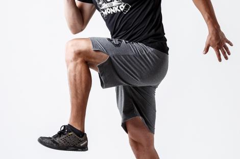 шорты колено